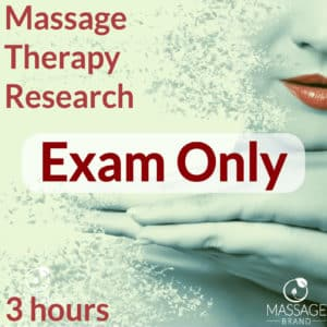 Most of our Massage Continuing Education courses are mailed to you and some are online only. All tests are online.